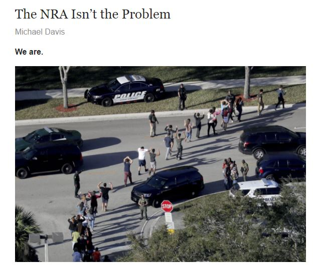 My Latest On The School Shooting In Florida On Splice
